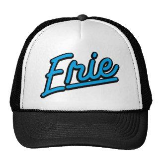 Erie in cyan trucker hats