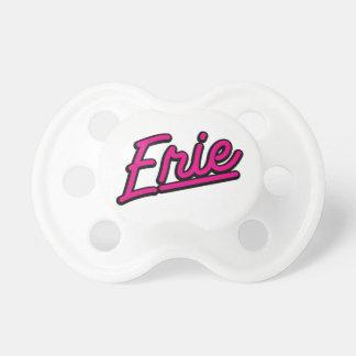 Erie in magenta pacifier