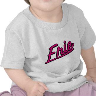 Erie in magenta t-shirts