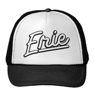 Erie in white trucker hats