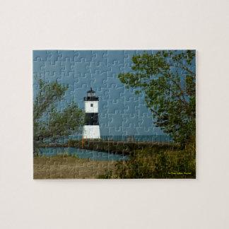 Erie North Pierhead Lighthouse, Pennsylvania Jigsaw Puzzle