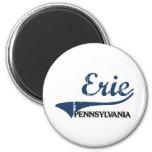 Erie Pennsylvania City Classic Fridge Magnet
