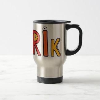 """""""Erik"""" Monster Letters Mug"""