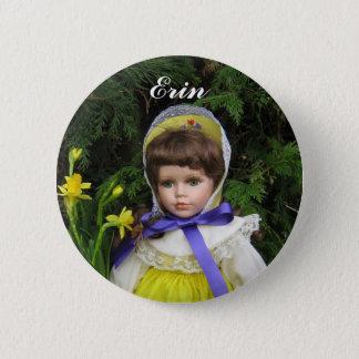 Erin 6 Cm Round Badge