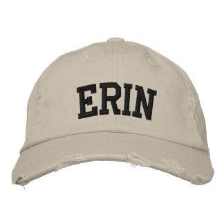Erin Embroidered Hat Baseball Cap