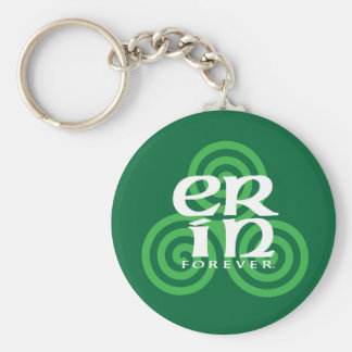 Erin Forever Key Ring Basic Round Button Key Ring
