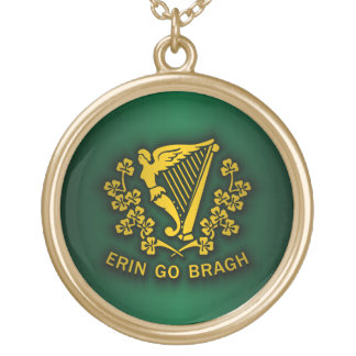 Erin Go Bragh 2 Personalized Necklace