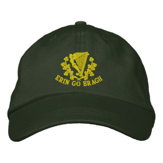 Erin Go Bragh Embroidered Baseball Cap