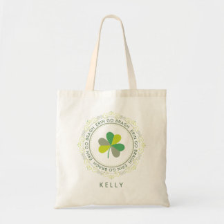 Erin go Bragh, Ireland Forever Budget Tote Bag