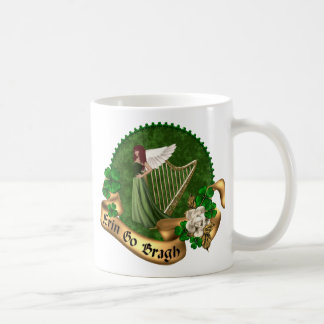 Erin Go Bragh Irish Basic White Mug