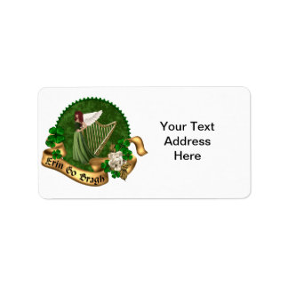 Erin Go Bragh Irish Label