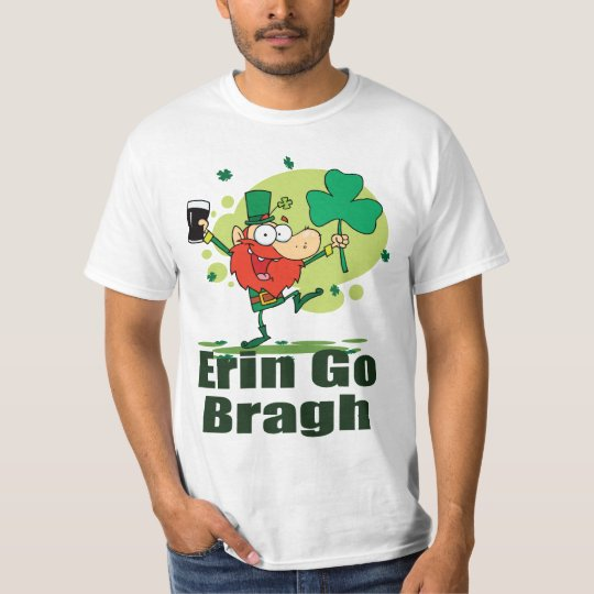 Erin Go Bragh Leprechaun with Stout T-Shirt