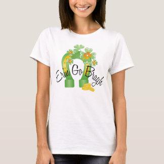 Erin Go Bragh Lucky Horseshoe T-Shirt