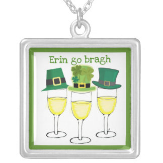 ERIN GO BRAGH WINE IRISH SAINT PATRICKS DAY JEWELRY