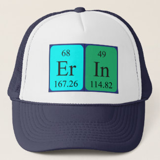 Erin periodic table name hat