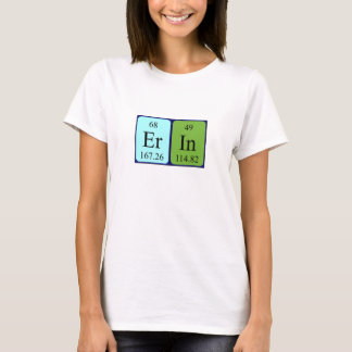 Erin periodic table name shirt