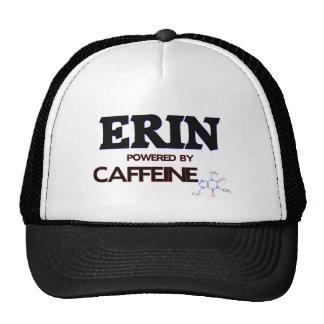Erin Powered by Caffeine Trucker Hats