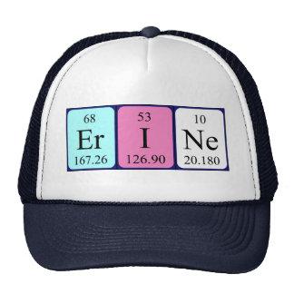 Erine periodic table name hat