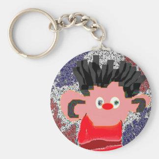 Erine SQ 2 Basic Round Button Key Ring