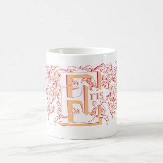 Eris Orange Shaken mug