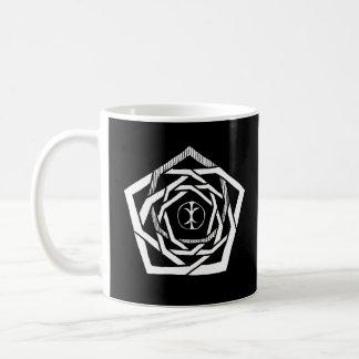 Erisian Mandala Reverse Basic White Mug
