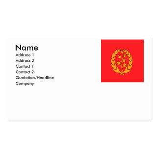 Eritrea Business Cards