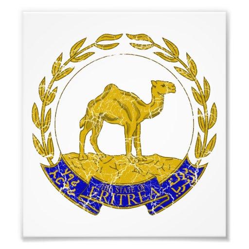 Eritrea Coat Of Arms Art Photo