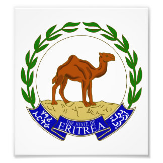 Eritrea Coat Of Arms Photo Print