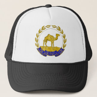 Eritrea Coat Of Arms Trucker Hat