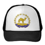 Eritrea Coat Of Arms Trucker Hats