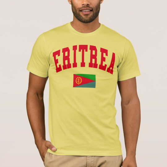 Eritrea College Style T-Shirt