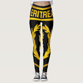 Eritrea Emblem Leggings