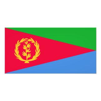 Eritrea – Eritrean Flag Art Photo