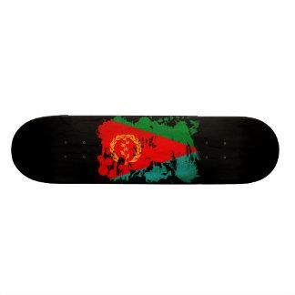 Eritrea Flag 18.1 Cm Old School Skateboard Deck