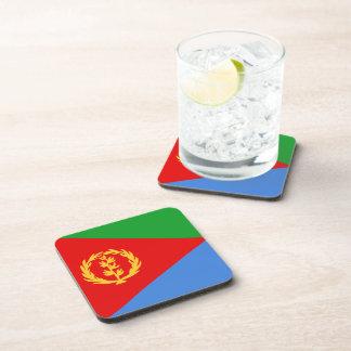 Eritrea Flag Coaster