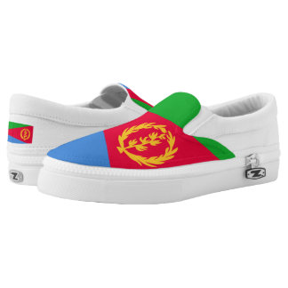 Eritrea Flag Slip-On Shoes