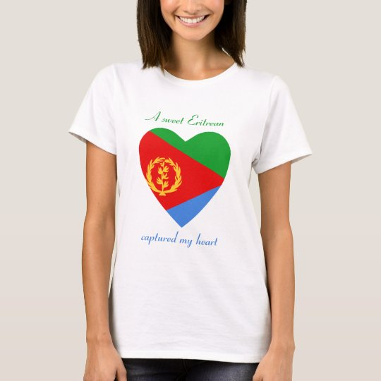 Eritrea Flag Sweetheart T-Shirt