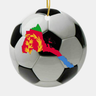 Eritrea football soccer ornament