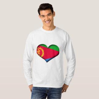 Eritrea Heart Flag T-Shirt