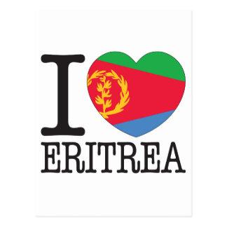 Eritrea love v2 postcard