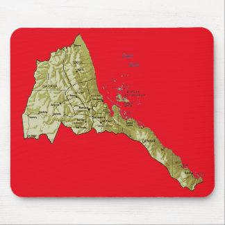 Eritrea Map Mousepad