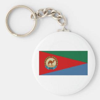 Eritrea President Flag Key Chains