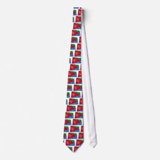 Eritrea Waving Flag Neck Tie