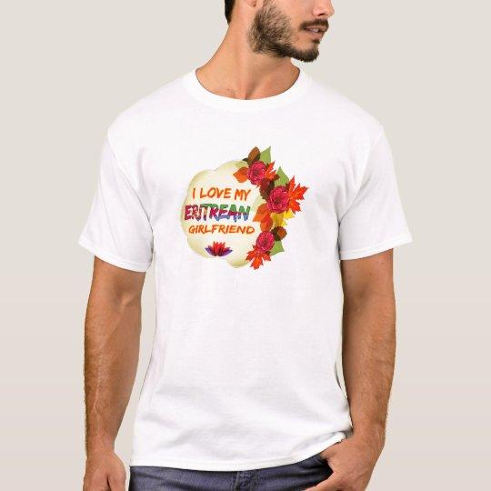 Eritrean Girlfriend Designs T-Shirt