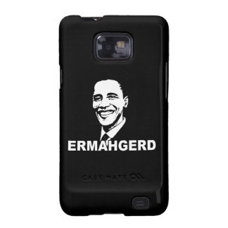 ERMAHGERD OBAMA png Samsung Galaxy S Covers