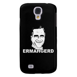 ERMAHGERD ROMNEY png Galaxy S4 Cover