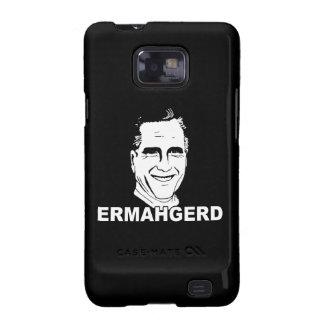ERMAHGERD ROMNEY png Samsung Galaxy S Cases
