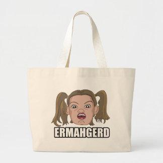 Ermahgerd Jumbo Tote Bag