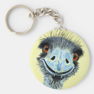Ermintrude the Emu Key Ring
