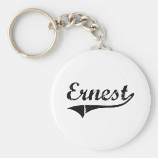 Ernest Classic Style Name Key Chain